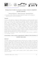 Nesigurnost modela za procjenu erozije u funkciji varijabilnih ulaznih podataka