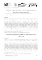 Primjena i integracija sustava BIM i ERP u građevinarstvu