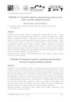STREAM 1D: Numerički model za prognoziranje prodora slane vode u izrazito uslojenim ušćima